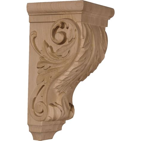 Maple Wood Corbels Ekena Millwork Corbel Maple Corw05x05x10acma