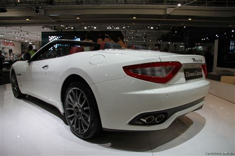 maserati price 2010 maserati grancabrio at 2010 aims photos 1 of 14