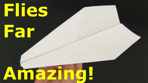 Origami Airplanes That Fly Far - how to make a paper airplane that flies far