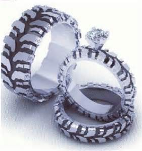 tire wedding rings no freakin way happily after
