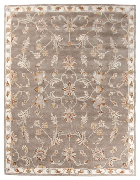 8x10 area rug new large traditional handmade wool 8x10 area rug carpet brown beige