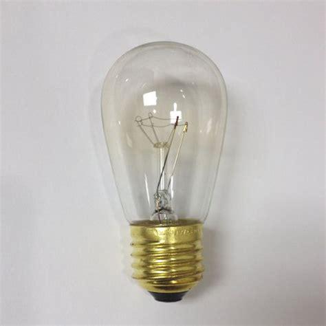 20 pack 11s14 cl 11 watt s14 incandescent light bulb