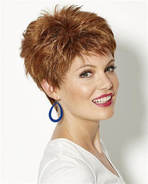 itip extensions in pixie spirited pixie wigs with short piecey layers and razored bangs