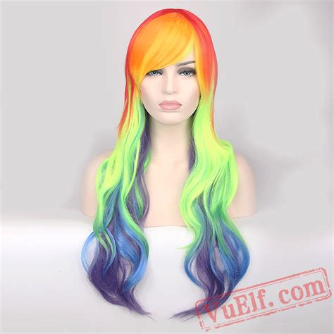 colored wigs colored curly wigs