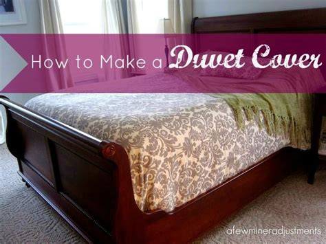 make your own duvet cover home decorating ideas pinterest