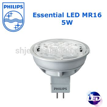 Lu Philips Essential 5w Philips Led Mr16 L Essential Led 5 5w 50w 2700k Mr16