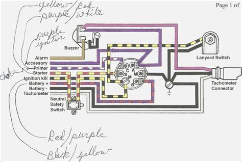 mercury marine ignition wiring diagram wiring diagram