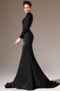 2014 new arrival long sleeves prom dresses mermaid high neck elegant long sleeve evening dresses