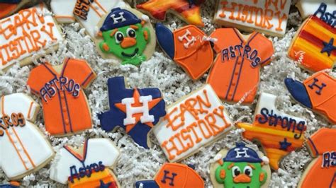 Astros Fans Makesokies Sweets To Celeb E World Series