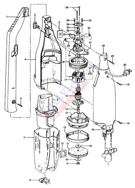 hoover carpet cleaner parts diagram hoover s2509 floor bagless vacuum cleaner parts list