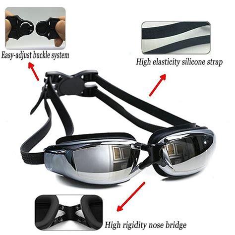 Kacamata Renang Minus Anti Fog Uv Protection G7800m 3 0 Hitam kacamata renang minus 3 0 anti fog uv protection g7800m