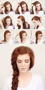 hairstyles tutorial fashionable hairstyle tutorials for long thick hair