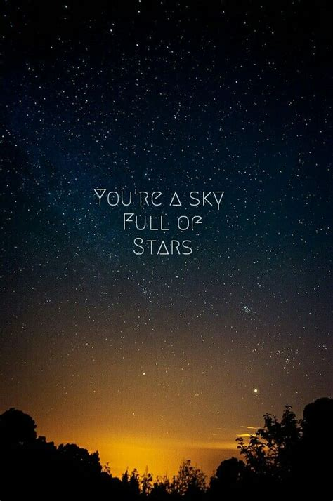 coldplay a sky full of stars pinterest the world s catalog of ideas