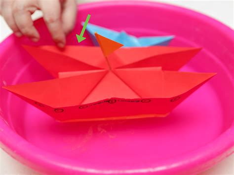origami boat wikihow 3 ways to make a paper battleship wikihow
