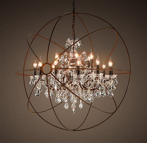 restoration hardware chandelier copy cat chic restoration hardware foucault s orb