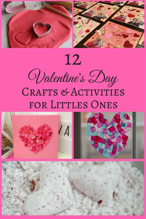 12 valentine s day crafts activities for littles ones