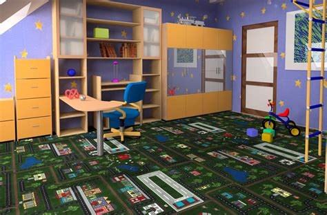 Kitchen Cabinets Overstock by Joy Carpets Tiny Town Kids Carpet Tile Squares