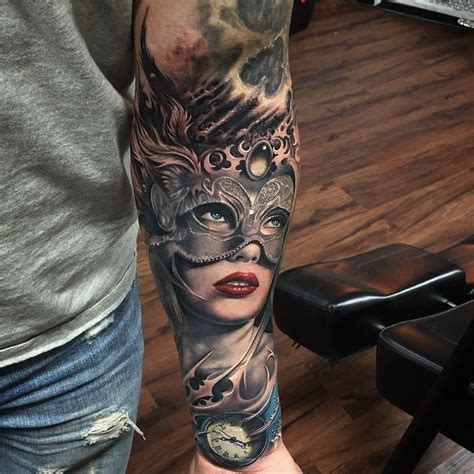 amazing tattoo removal just wow amazing venetian mask by rember orellana