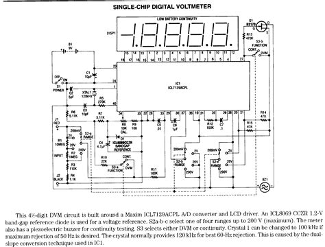 R 0r33 5w By Digital Analog Design page 1 volt meters electronic circuits