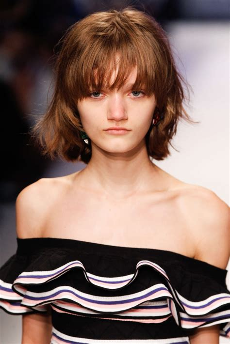 bob haircuts with bangs 2017 trendy bob haircut ideas from runway for 2017 haircuts