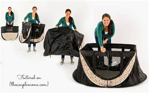 parentlab journeybee lightweight portable crib