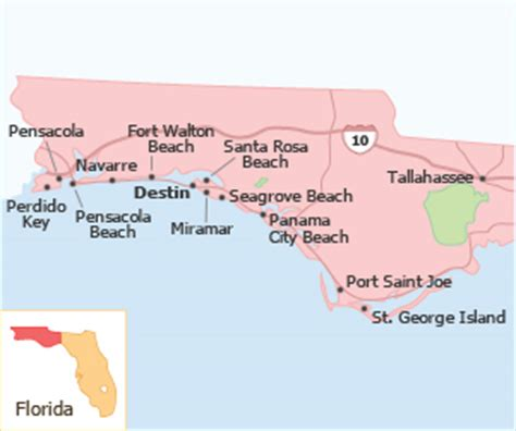 florida panhandle map of beaches the 30 best florida panhandle vacation rentals on