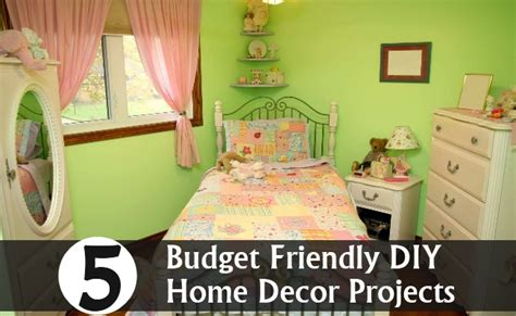 Diy Home Decor Projects On A Budget 5 budget friendly diy home decor projects diy home things