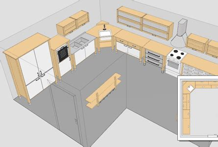 design a kitchen layout online best free kitchen design software