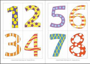 printable digit cards number cards 1 10 gallery