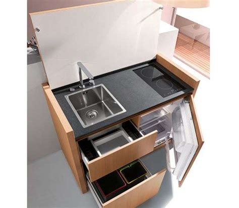 compact design compact culinary workspaces kitchoo k1