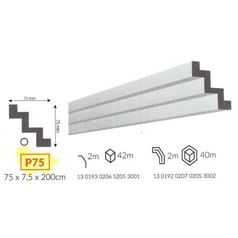 cornici in polistirene profilo cornice da soffitto p75 in polistirene