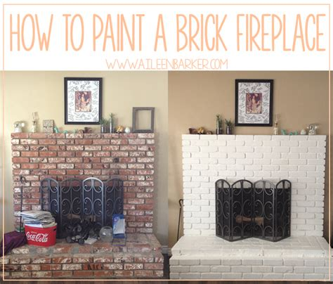 How To Remove Paint From Brick Fireplace by Paint Color For Fireplace Brick Ideas Whitewash A Brick