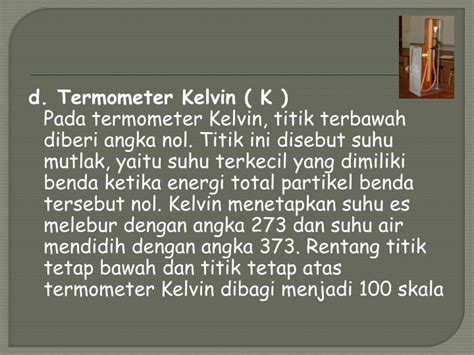 Termometer Skala 100 ppt suhu dan energi powerpoint presentation id 2494308