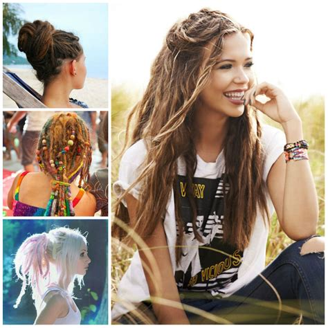 cool dreadlock hairstyles 2016 edgy hairstyles with dreadlocks for 2017