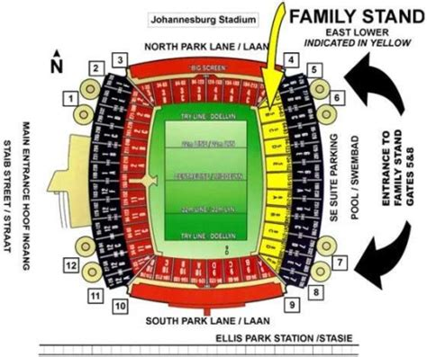 ellis park floor plan coca cola park formerly ellis park johannesburg