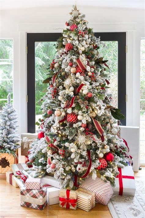 árboles de navidad decorados 2018 tendencias de navidad 2018 193 rboles decoraciones y m 225 s