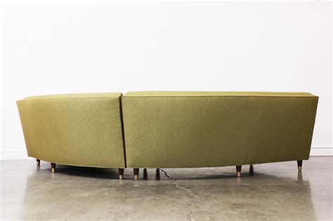 Olive Green Sectional Sofa by Mid Century Olive Green Sectional Sofa Vintage Supply Store