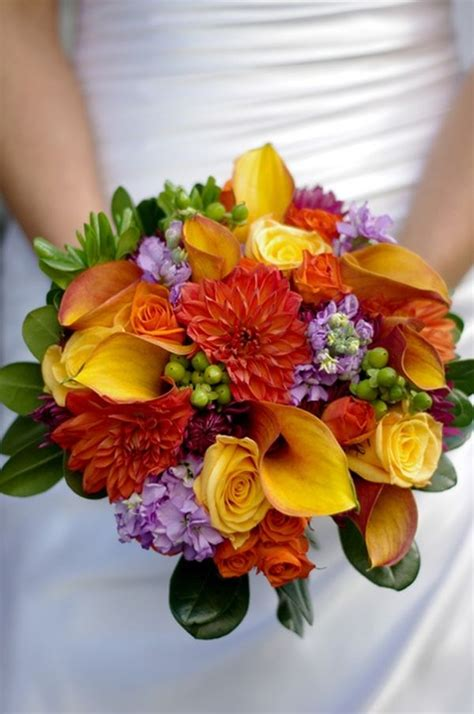 fall wedding flower ideas pictures how to choose your bouquet for a fall wedding 30