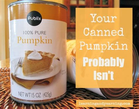 Probably Isnt by Your Canned Pumpkin Probably Isn T