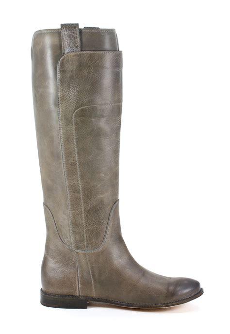 frye womens leather grey fashion boot 9