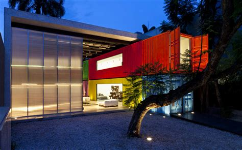 brazilian home design trends shipping container homes iso container building in brazil
