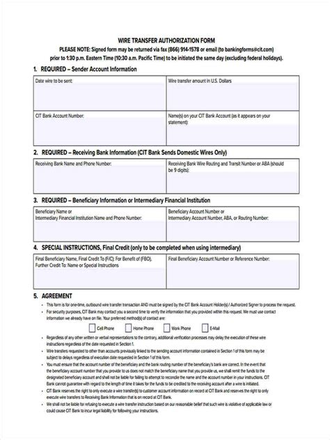 wire transfer form template 7 wire transfer forms free sle exle format