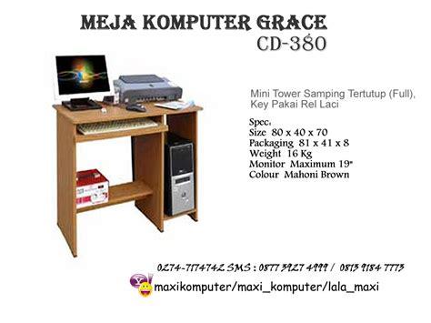 Meja Komputer Rakitan grace cd 380 155rb