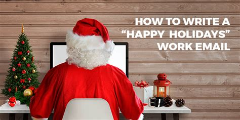 write  email wishing  happy holidays  english aba journal