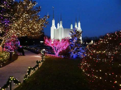 dc mormon temple festival of lights lights limo tours lasting impressions