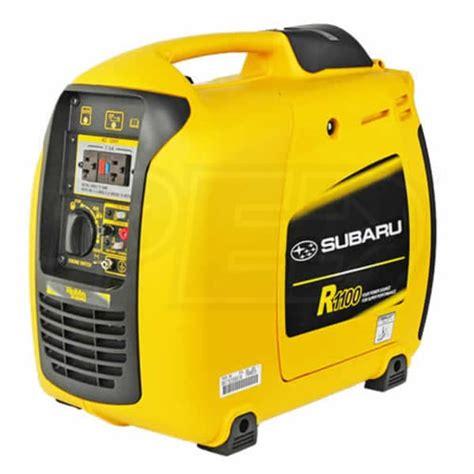 portable electric generator subaru r1100 recreational portable generators reviews