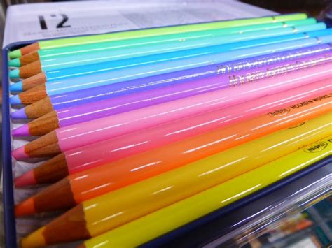 pastel colored pencils japan holbein artists pastel tone colored pencil 12 colors