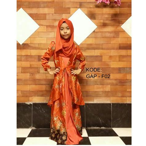 Baju Muslim Cantik busana muslim anak perempuan cantik elegan fashion trendy modis chic syar i fashion