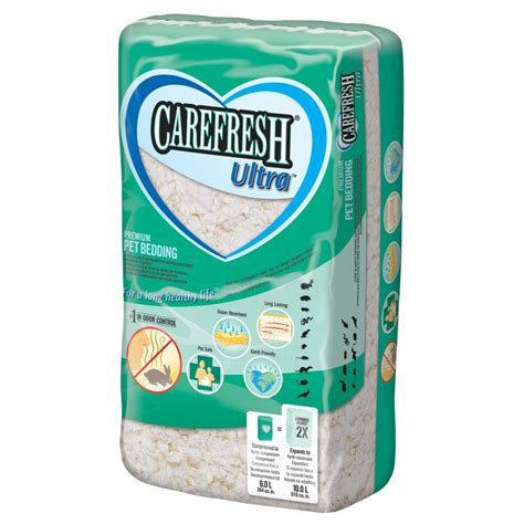 carefresh bedding carefresh small animal bedding ultra 10 litre feedem