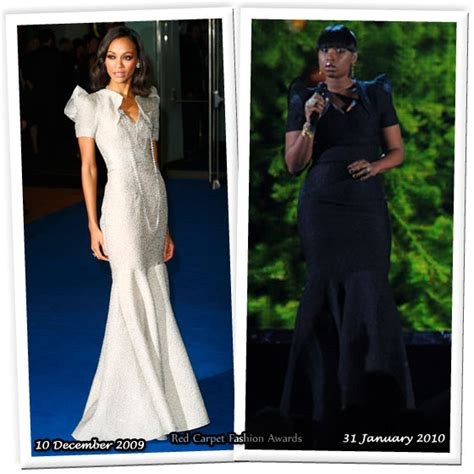 Who Wore Rm By Roland Mouret Better Trudie Styler Or Jemima Khan by Who Wore Rm By Roland Mouret Better Zoe Saldana Or